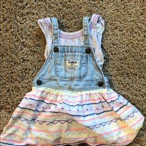 Oshkosh skirt outfit